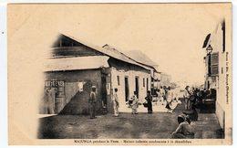 Majunga Pendant La Peste. Maison Infectée Condamnée à La Démolition. (1198) - Gesundheit