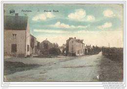 PONDROME ..--  Grand ´ Route . 1927 Vers BREVAL ( Melle Yvonne BARRE ) . Voir Verso . - Beauraing