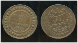 TUNISIE 5 Centimes 1912 - Túnez