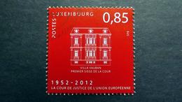 Luxemburg 1955 Oo/used, 60 Jahre Europäischer Gerichtshof