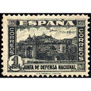 ES811STV-LTV***811STAN.Spain.Esgane .JUNTA DE LA DEFENSA.Vistas De TOLEDO.1936/7.(Ed 811**) - 1931-50 Nuevos & Fijasellos
