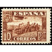 ES813STV-LTV***813STAN.Spain.Esgane .JUNTA DE LA DEFENSA.Desembarco En ALGECIRAS.1936/7.(Ed 813**) - 1931-Hoy: 2ª República - ... Juan Carlos I