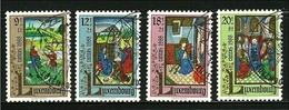 LUSSEMBURGO 1988 - CARITAS LIBRI - N.° 1160 / 63  Us. Serie Compl.- Cat. 7,50 €  - Lotto N. 327