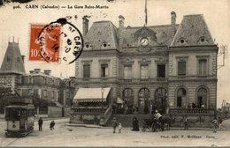 CAEN LA GARE SAINT MARTIN - Caen
