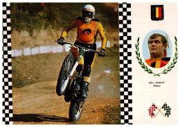 MOTO , Motocross , SUZUKI , JOEL ROBERT , BELGIQUE , N° 4 SERIE MOTOCROSS - Motociclismo