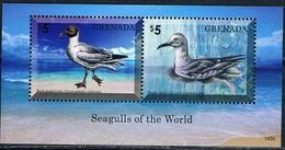 Bloc Sheet Oiseaux  Birds Seagulls Neuf  MNH ** Grenada 2014