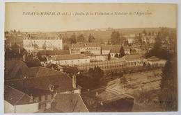 PARAY-le-MONIAL - Saône-et-Loire - Jardin De La Visitation Et Noisetier De L'Apparition - Very Old - Paray Le Monial