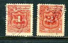 Salvador 1896 Y&T Taxe 9 10 ° - Salvador