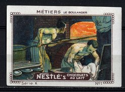 Nestlé (1920's) - X - Métiers - 1 - Le Boulanger, Baker - Nestlé