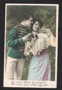 BELGIE  OUDE POSTKAART  VERLIEFDHEID 1911 - Saint-Valentin