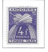 ANDORRE Taxe N°36 - Neuf *