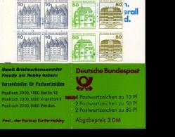 Markenheftchen Bund Postfr. MH 24 I K1 MZ  Burgen Und Schlösser MNH ** - [7] République Fédérale