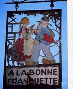 PARIS    /   75  / A LA BONNE FRANQUETTE         CPM / CPSM  10 X 15 - Pubs, Hotels, Restaurants