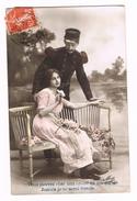 FRANKRIJK   OUDE POSTKAART  VERLIEFDHEID  1913 - Saint-Valentin