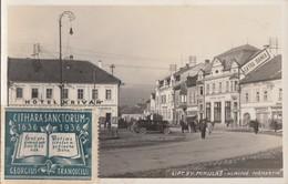 SLOVAKIA - Lipt. Sv. Mikulas 1936 - Hlavne Namestie - Eslovaquia