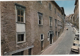Urbino: FIAT 1500, 500, 850, RENAULT 4 - Via Raffaello - (It.) - Voitures De Tourisme