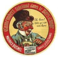 étiquette Fromage  Camembert  Pays D'auge Maurice Busnel  Ouville La Bien Tournée Calvados - Quesos