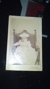 CDV -  Un Bébé Le Jour De Son Baptême (photographe Keihg à Môdling) - Old (before 1900)