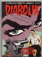 Diabolik (Astorina 1976) Anno XV° N. 23 - Diabolik