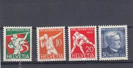Suisse - Neufs**  -  Pro Juventute - Année 1932 - YT 263/266