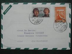 Cap Vert Verde - Lettre Publicitaire 1957 Tarif IMPRIME Publicité Puericrine Affranchissement Timbre