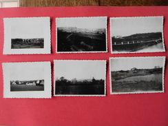 Lot 6 Photos Anciennes De Pont A Celles  Différents Hameaux - Pont-a-Celles