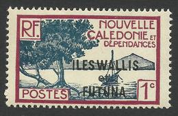 Wallis And Futuna, 1 C. 1930, Sc # 43, MH - Unused Stamps