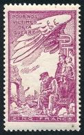 France - Vignette Bienfaisance PTT 'Victimes De La Guerre' N°39 **  ..Réf.FRA28849 - Erinnophilie