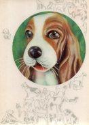 Winking Dog - Cartoline Stereoscopiche