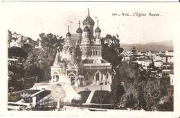 Nice - L'Eglise Russe - Carte Photo - Monumenten, Gebouwen