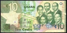GHANA 10 CEDIS 1-7-2011 VG-F - Ghana