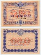 1914-1918 // C.D.C. // EVREUX // 50 Cts - Chambre De Commerce