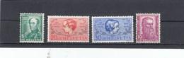 Suisse - Neufs**  -  Pro Juventute - Année 1937 - YT 303/306