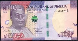 NIGERIA 100 Naira 2014 VF-EXF - Nigeria