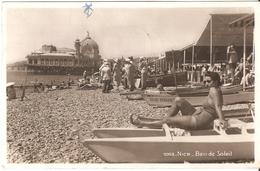 Nice - Bain De Soleil - Carte Photo Glacée - 1938 - Nice