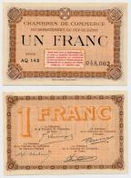 1914-1918 // C.D.C. // PUY DE DÔME // 1 Franc - Chambre De Commerce