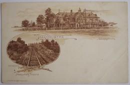 PRETORIA - Johannesburg - Spoorweg -  Johannesburg Pretoria -  J H Bussy Amst Pretoria (début Du XXe Siècle) - South Africa