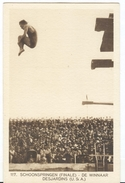 NETHERLANDS Unused Official Olympic Postcard Nr. 117 With Desjardins USA Winner 1928 Olympic Games In Amsterdam