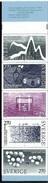 SUECIA 1983 - PREMIO NOBEL DE QUIMICA - YVERT 1244-1248 ** BOOKLET