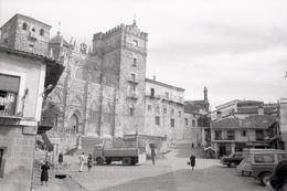 1970 COCHES CACERES ESPANA SPAIN 35mm  AMATEUR NEGATIVE SET NOT PHOTO NEGATIVO NO FOTO - Fotografia