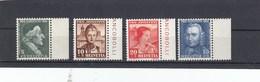 Suisse - Neufs**  -  Pro Juventute - Année 1941 - YT 371/374