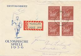 MAGDEBURG - 1956 , Olympiade