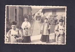 Photo Format Carte Herrlisheim Près Colmar ( Prêtres Dont M. Le Curé Eugene Liebis ) - Autres Communes