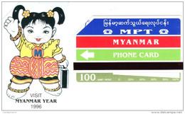 *MYANMAR* - Scheda Usata - Myanmar