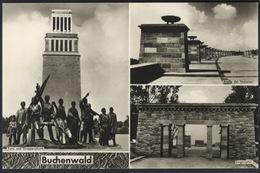 P374 DDR AK Postkarte VEB Bild Und Heimat Reichenbach Mahn- Und Gedenkstätte Buchenwald Ungelaufen - Deutschland
