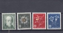 Suisse - Neufs**  -  Pro Juventute - Année 1943 - YT 388/391