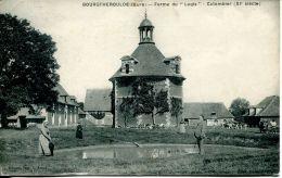 "N°34299 -cpa Bourgtheroulde -ferme Du ""logis"" Colombier - Fermes"