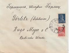Russie Lettre Pour L'Allemagne 1927