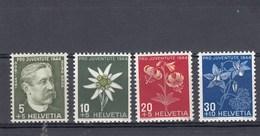 Suisse - Neufs**  -  Pro Juventute - Année 1944 - YT 399/402