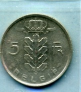 1967  5 FRANCS BELGIË - 1951-1993: Baudouin I